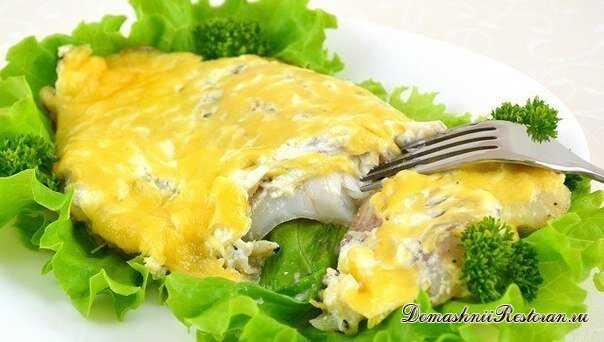 Рыб запеченная с сыром