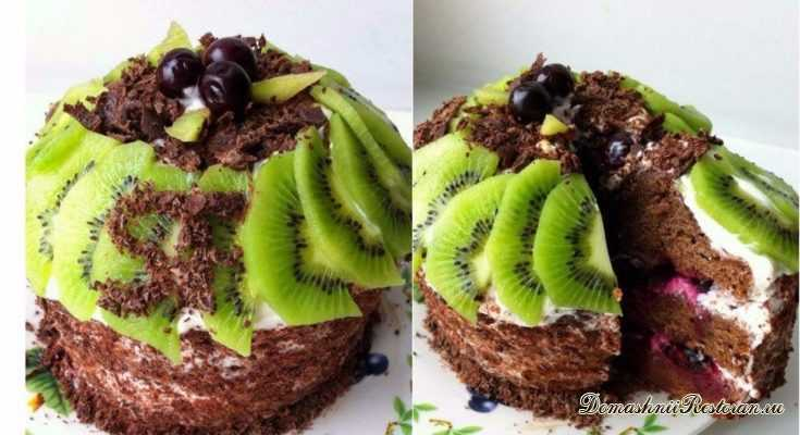Торт Лесная Избушка