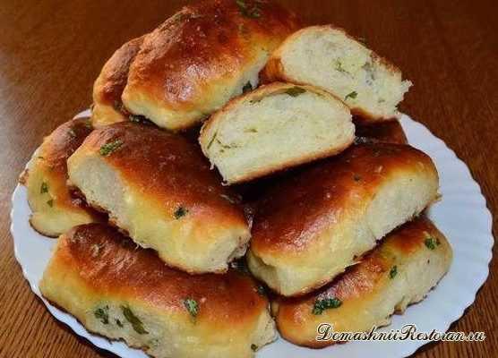 Чесночно- сливочные булочки