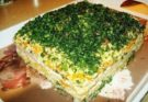 Закусочный торт- салат Наполеон