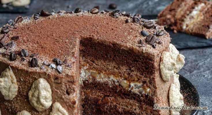 Бразильский ореховый торт