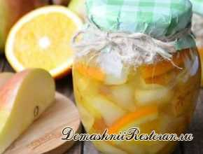 Грушево-апельсиновое варенье