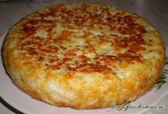 Пирог Шарлотка с капустой