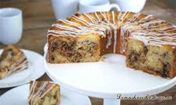 Торт финиковый в мультиварке