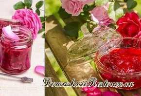 Варенье из лепестков розы