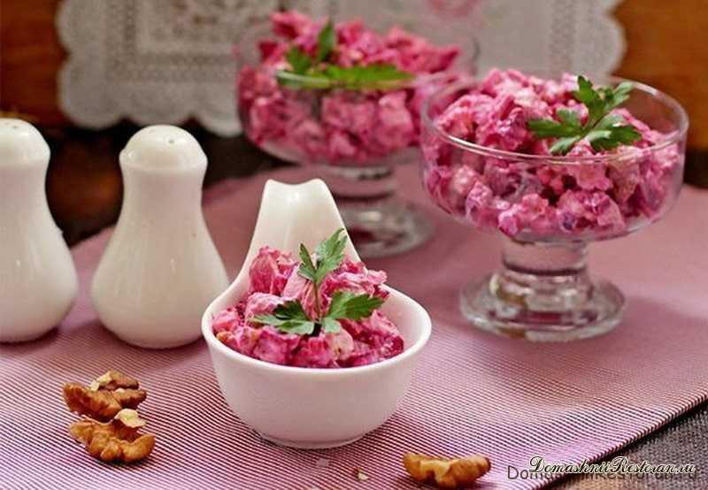 Бесподобный салат Виолетта