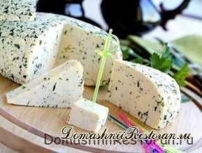 Быстрый рецепт домашнего сыра
