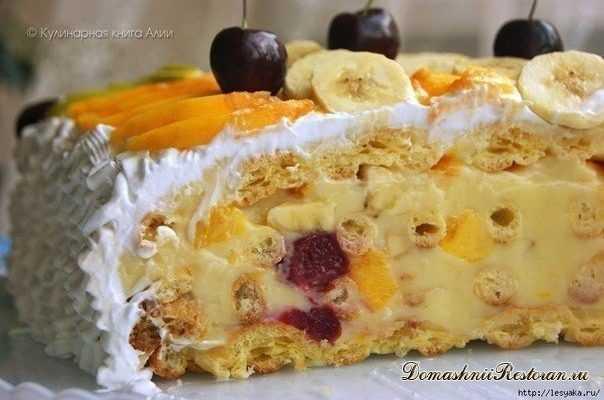 Оригинальный и вкусный торт Тропиканка