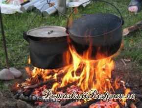 Первые блюда в походе