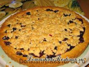 Песочное тесто для пирогов и печеья