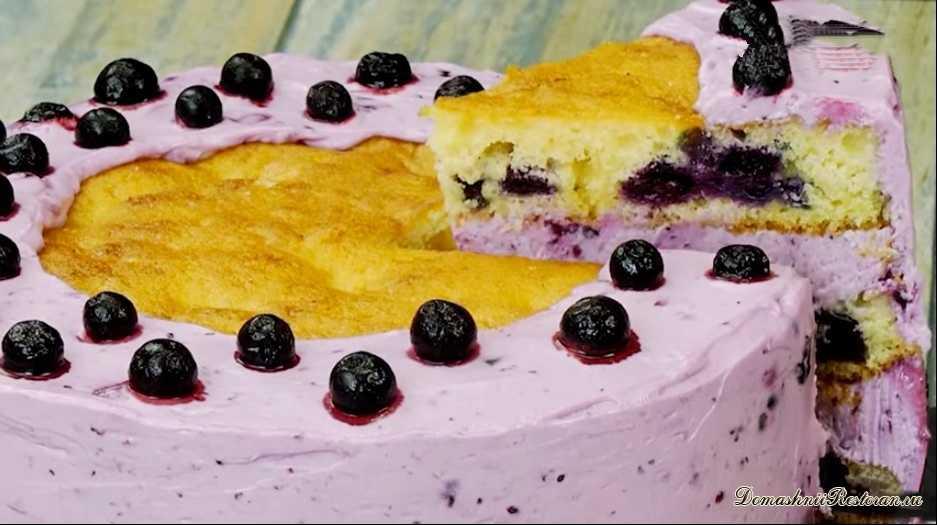 Самый вкусный и полезный Фиолетовый торт
