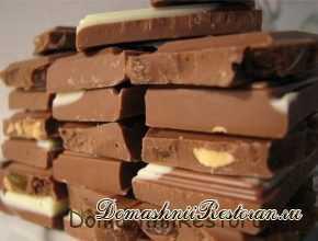 Шоколад домашний