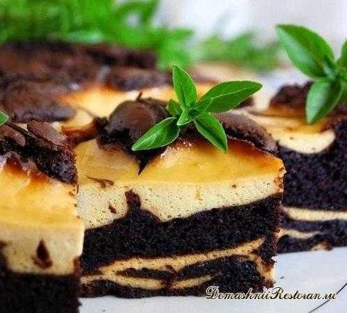 Шоколадно-банановый торт Сюрреалист