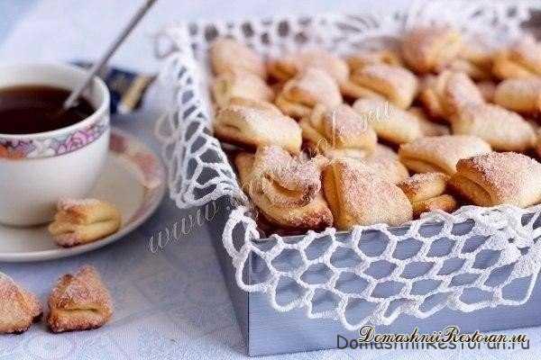 Вкусное домашнее творожное печенье