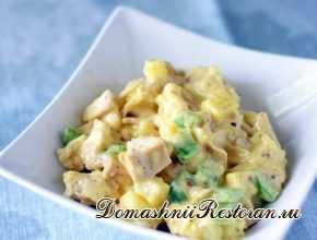 Белковый салат Дамский каприз