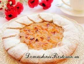 Грушево-яблочный пирог Нежность