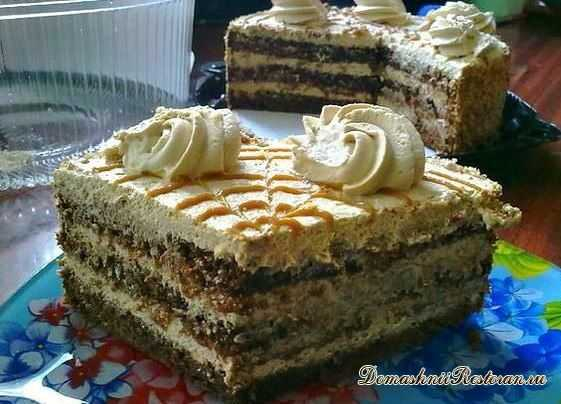 Самый вкусный торт Крем- Брюле