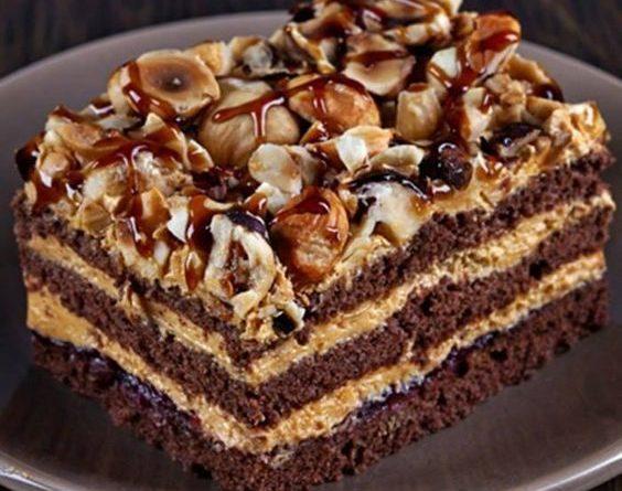 Шоколадный торт Арабские сказки
