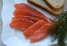 Соленая красная рыба по-домашнему