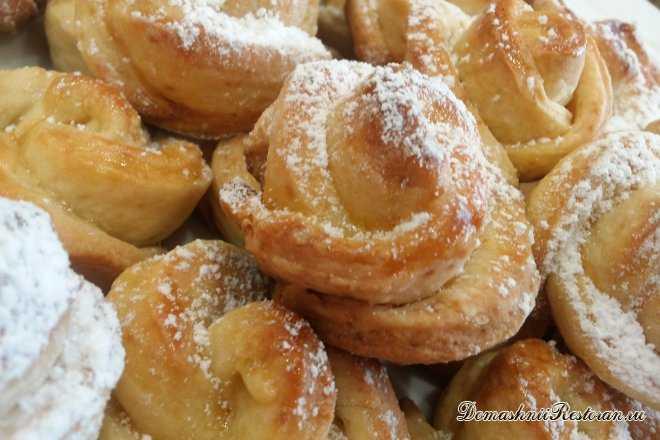 Творожное печенье Чайная роза