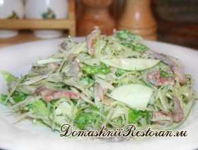 Скандинавский селёдочный салат