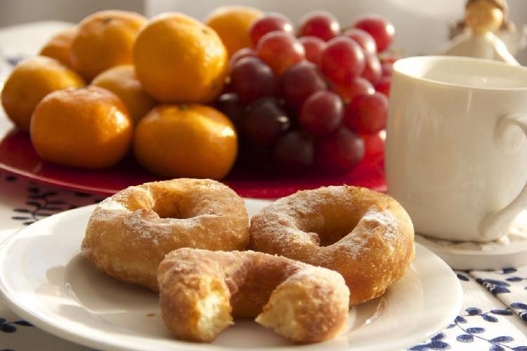 Пончики приготовленные по ГОСТу