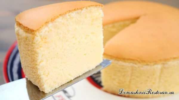 Рецепт торта «Японский хлопковый Чизкейк». Мягкий, воздушный десерт, который тает во рту.