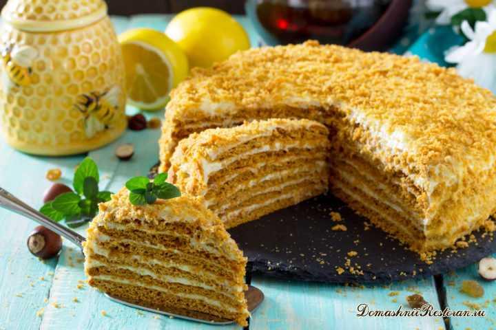 Торт Медовик классический самый вкусный. Все просят Этот рецепт Медового торта