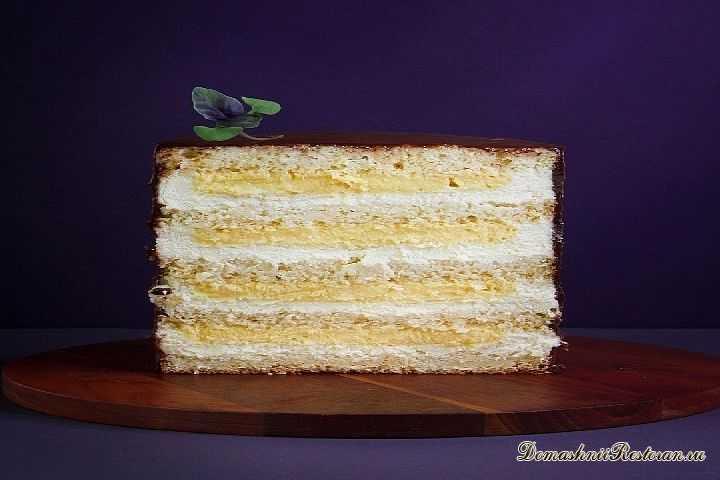 Кокосово-ананасовый торт