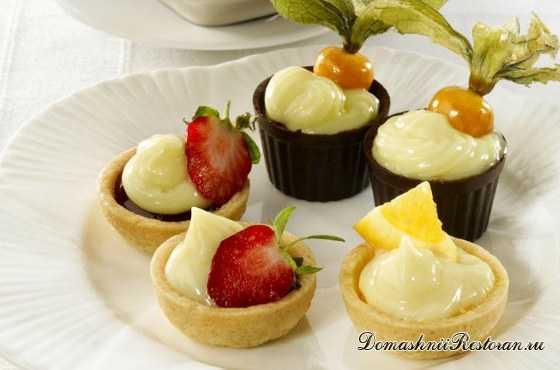 Крем Патисьер / Patissiere – универсальная основа для десертов