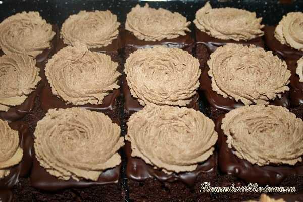 Шоколадное Пирожное ☆Богема☆Универсальный десерт, который украсит любой праздник!