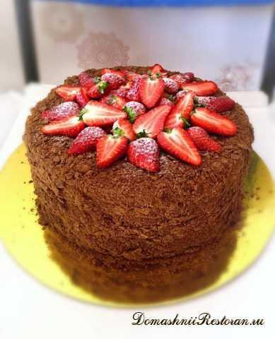 Торт Шоколадный «Афганский» Наполеон✨Божественный вкус торта Наполеона по-новому