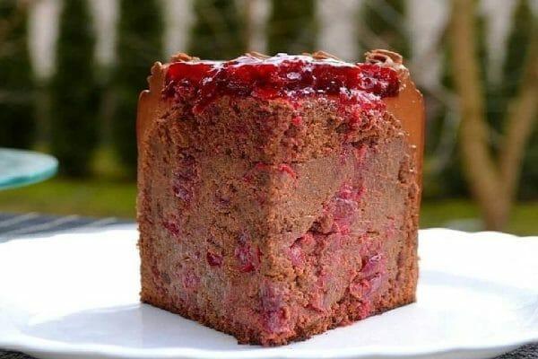 Шоколадный Торт с Вишней☆Бесподобный Торт!