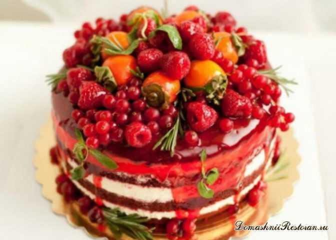 Сметанный Торт с Фруктами✧удивительно нежный, вкусный десерт