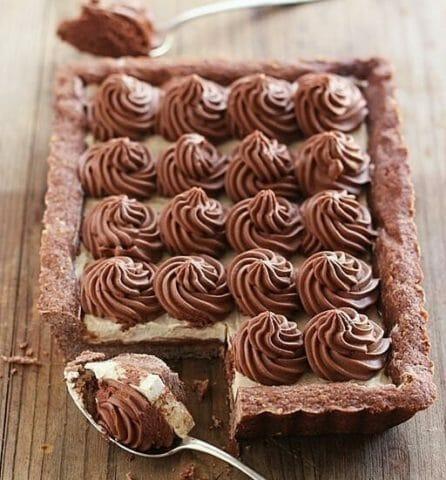 Тарт «Шоколадный капуччино»