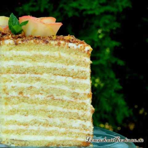 """Волшебный Торт """"Апфельмусс""""✿Очень нежное и вкусное лакомство!"""