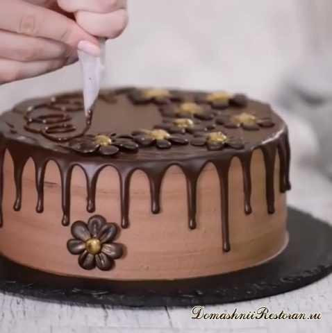 Торт «Чернослив в шоколаде» ~ изумительно вкусный десерт!