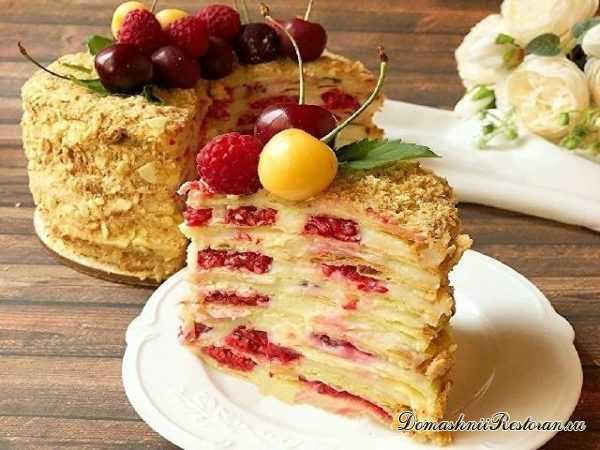 """Легкий и вкусный Торт """"НАПОЛЕОН"""" на основе Авокадо✨Самый лучший рецепт торта «Наполеон» на десерт"""