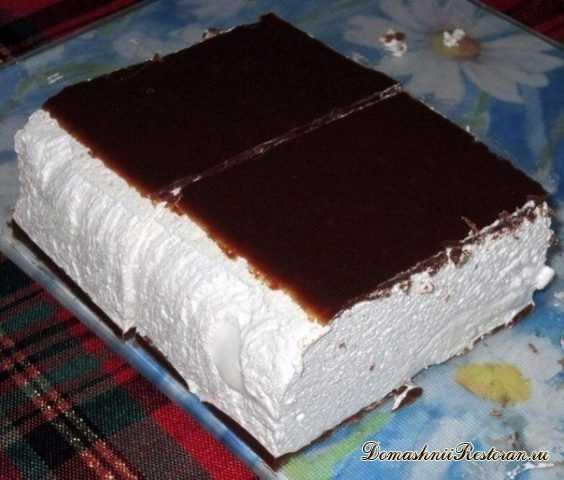 """Торт """"Птичье молоко""""~ вкусно, просто, быстро"""