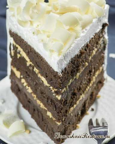 """Стильный и очень вкусный Торт """"ТОФФИ"""""""