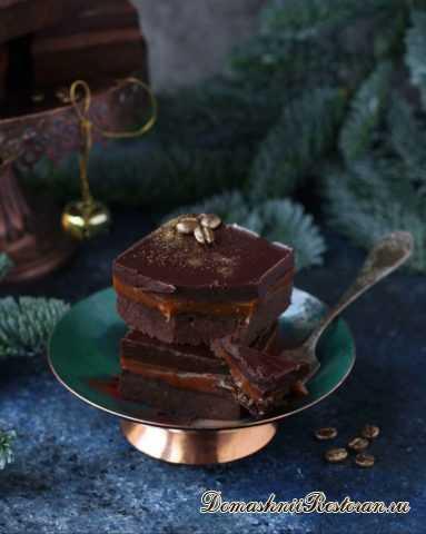 Нежнейшие Трюфельно-Кофейные Пирожные с Карамелью