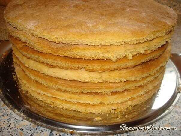 Как быстро приготовить коржи для торта? 😉