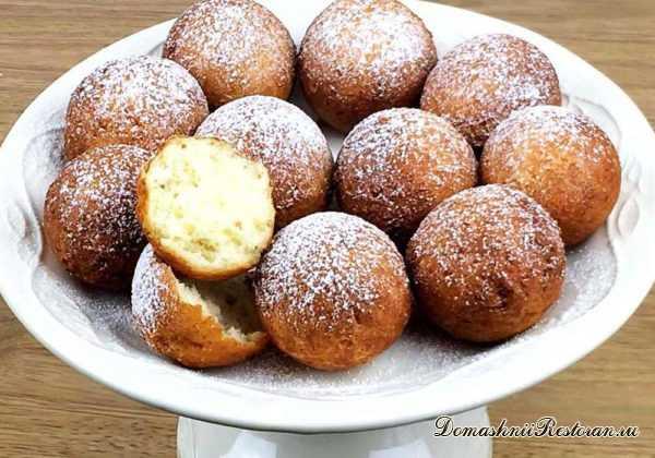 Самый простой рецепт пончиков! Всего 4 ингредиента!