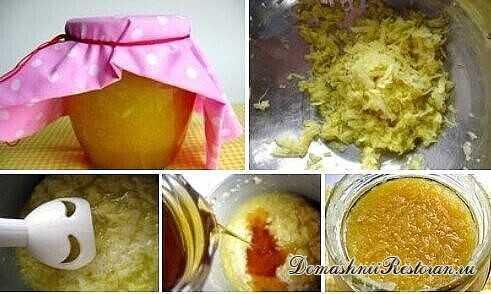 Имбирная смесь с лимонами и медом