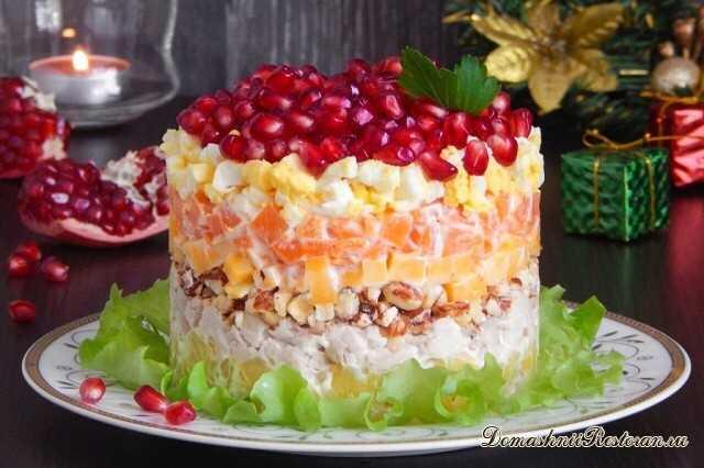 Салат «Красная шапочка» на Новый Год