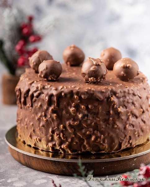 """Торт """"Арахис в шоколаде"""""""