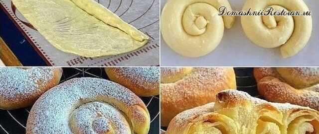 """Испанские булочки """"Ensaimadas"""""""