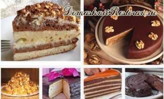 Тающие во рту ТОРТЫ - 6 рецептов вкусных тортов