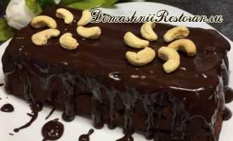 Австрийский шоколадный пирог ПЬЯНАЯ ГРУША